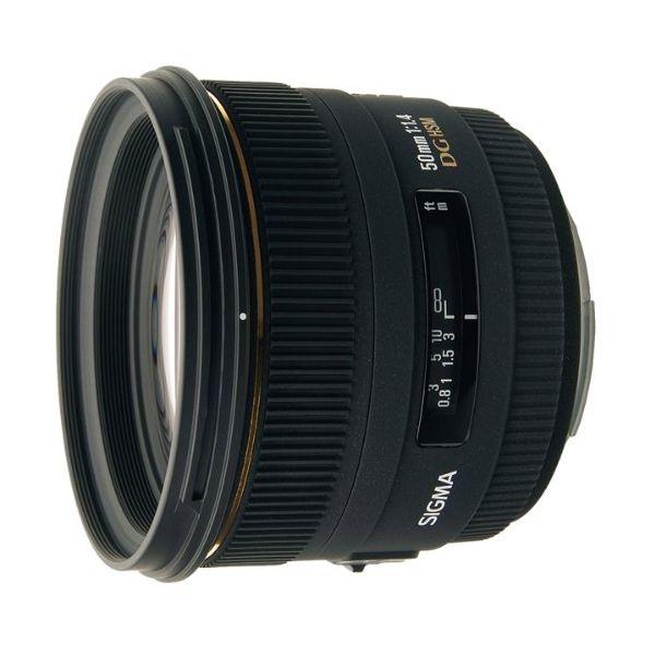 【中古】【1年保証】【美品】SIGMA 50mm F1.4 EX DG HSM ソニー