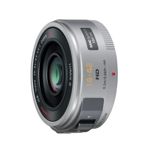 【中古】【1年保証】【美品】 Panasonic LUMIX 14-42mm F3.5-5.6 シルバー