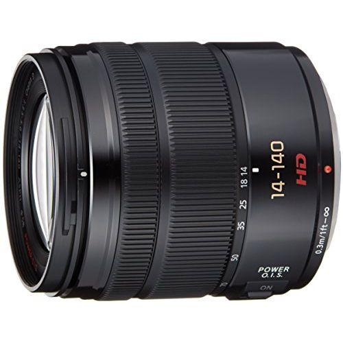 【中古】【1年保証】【美品】Panasonic LUMIX G VARIO 14-140mm F3.5-5.6 ASPH. POWER O.I.S. ブラック H-FS14140-K