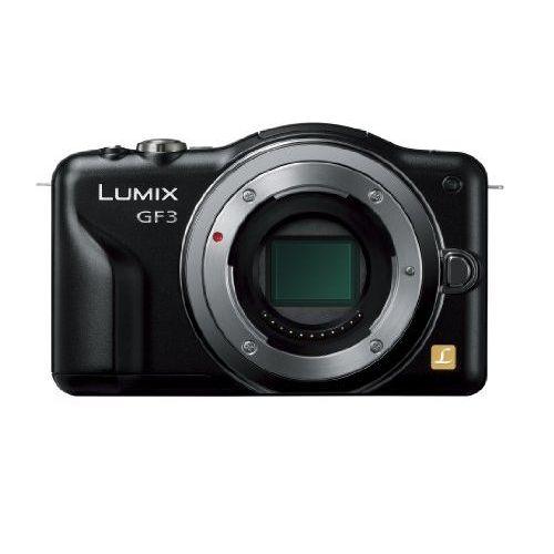 【中古】【1年保証】【美品】Panasonic LUMIX GF3 ボディ ブラック