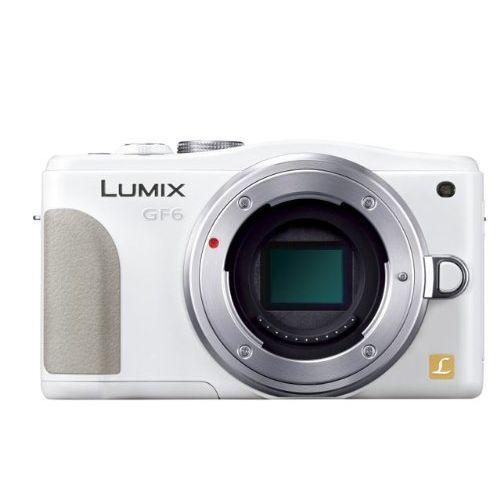 【中古】【1年保証】【美品】 Panasonic LUMIX GF6 ボディ ホワイト