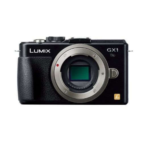 【中古】【1年保証】【美品】 Panasonic LUMIX GX1 ボディ ブラック