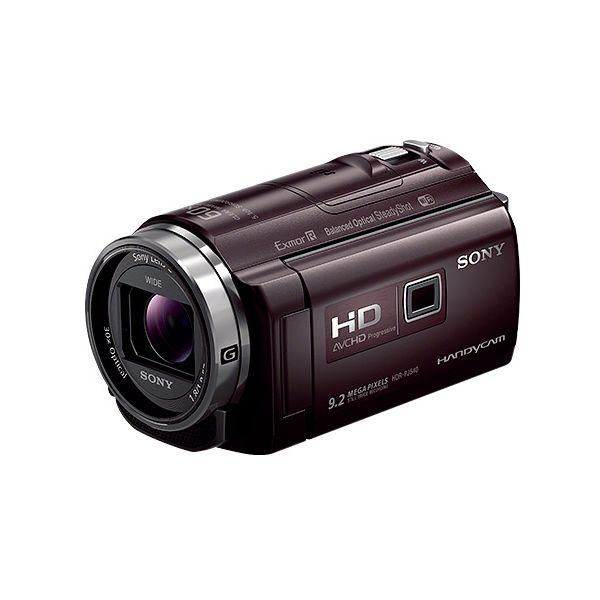 【中古】【1年保証】【美品】SONY デジタルHD ビデオカメラ HDR-PJ540 ブラウン