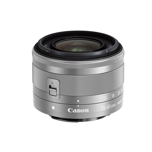 【中古】【1年保証】【美品】Canon EF-M 15-45mm F3.5-6.3 IS STM シルバー