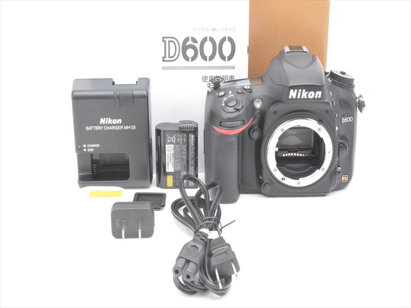 【あす楽】【中古】【1年保証】【美品】 Nikon D600 ボディ