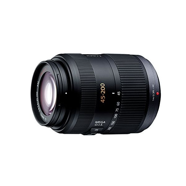 【中古】【1年保証】【美品】Panasonic LUMIX G VARIO 45-200mm F4.0-F5.6 MEGA O.I.S.