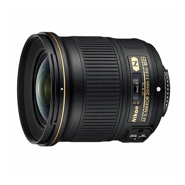 【中古】【1年保証】【美品】Nikon AF-S 24mm F1.8G ED