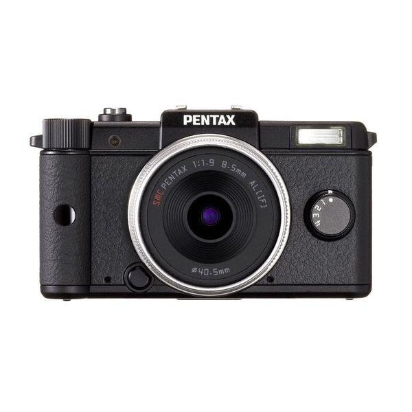 【中古】【1年保証】【美品】 PENTAX Q レンズキット ブラック