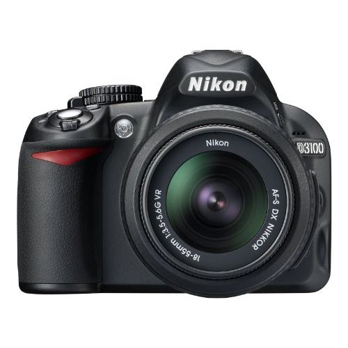 【中古】【1年保証】【美品】 Nikon D3100 レンズキット ブラック