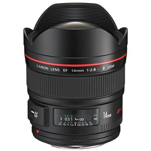 【中古】【1年保証】【美品】 Canon 単焦点広角 EF14mm F2.8 L II USM