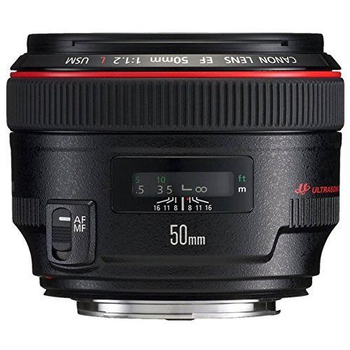 【中古】【1年保証】【美品】Canon EF 50mm F1.2L USM