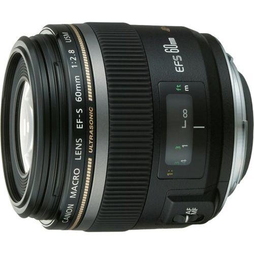 【中古】【1年保証】【美品】Canon EF-S 60mm F2.8 USM マクロ