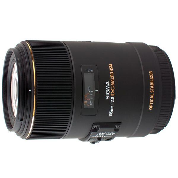 【中古】【1年保証】【美品】SIGMA 105mm F2.8 EX DG OS HSM MACRO ソニー
