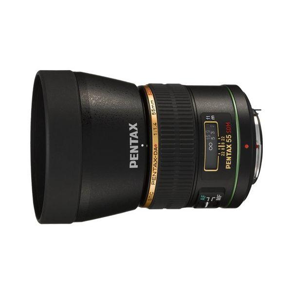 【中古】【1年保証】【美品】 PENTAX DA ★ 55mm F1.4 SDM