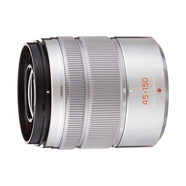 【中古】【1年保証】【美品】Panasonic LUMIX 45-150mm F4-5.6 MEGA O.I.S. シルバー
