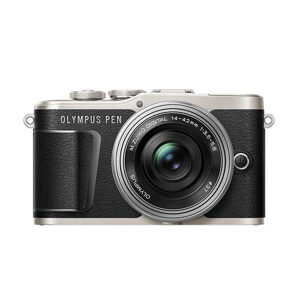 【中古】【1年保証】【美品】OLYMPUS PEN E-PL9 14-42mm EZ レンズキット ブラック