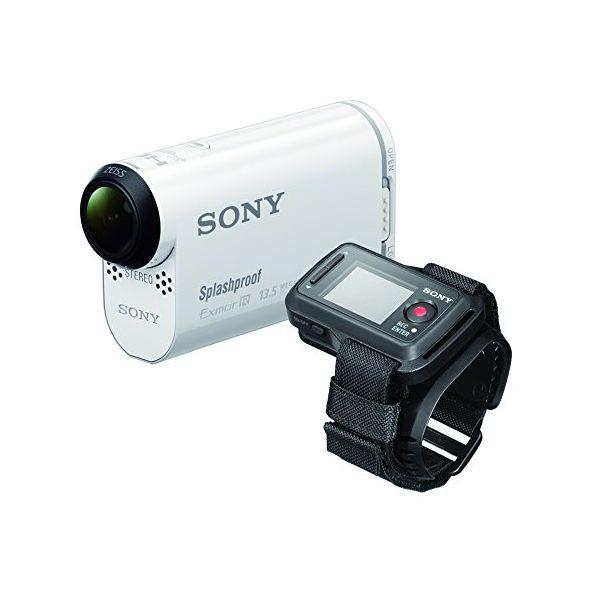 【中古】【1年保証】【美品】 SONY デジタルHD ビデオカメラ HDR-AS100VR リモコンキット