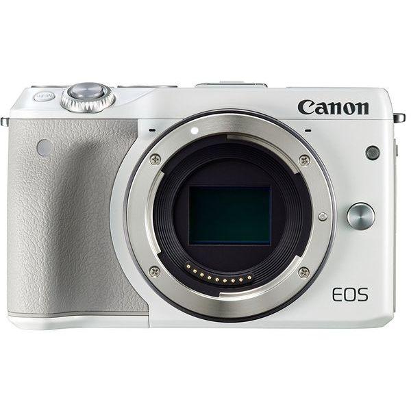 【中古】【1年保証】【美品】Canon EOS M3 ボディ ホワイト