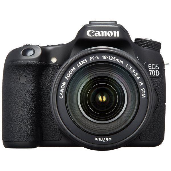【中古】【1年保証】【美品】Canon EOS 70D レンズキット 18-135mm IS STM