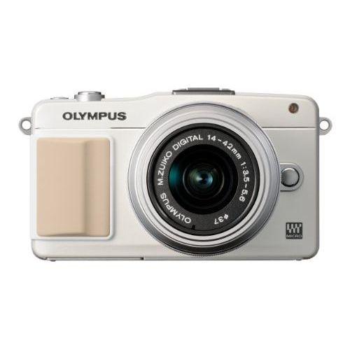 【中古】【1年保証】【美品】OLYMPUS E-PM2 レンズキット ホワイト