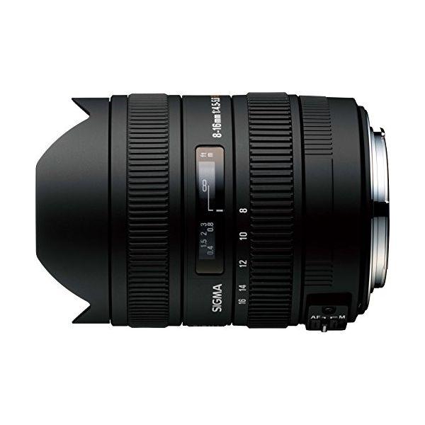 【中古】【1年保証】【美品】SIGMA 8-16mm F4.5-5.6 DC HSM ニコン