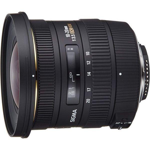 【中古】【1年保証】【美品】SIGMA 10-20mm F3.5 EX DC HSM ニコン