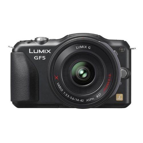 【中古】【1年保証】【美品】Panasonic LUMIX GF5 電動ズームレンズ ブラック