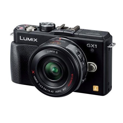 【中古】【1年保証】【美品】Panasonic LUMIX GX1 レンズキット 14-42 ブラック