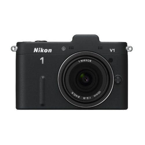 【中古】【1年保証】【美品】 Nikon 1 V1 薄型レンズキット ブラック