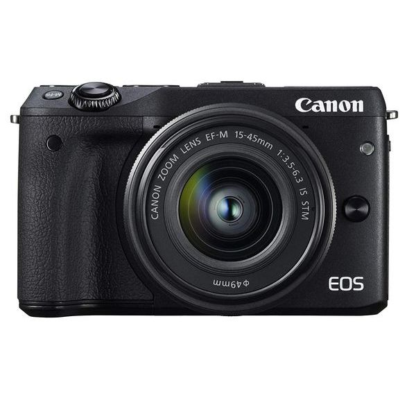【中古】【1年保証】【美品】Canon EOS M3 15-45mm IS STM レンズキット ブラック