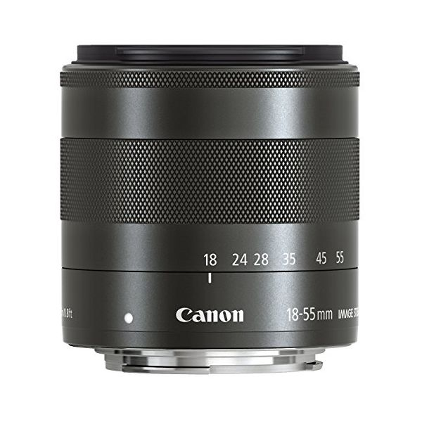 【中古】【1年保証】【美品】 Canon EF-M 18-55mm F3.5-5.6 IS STM