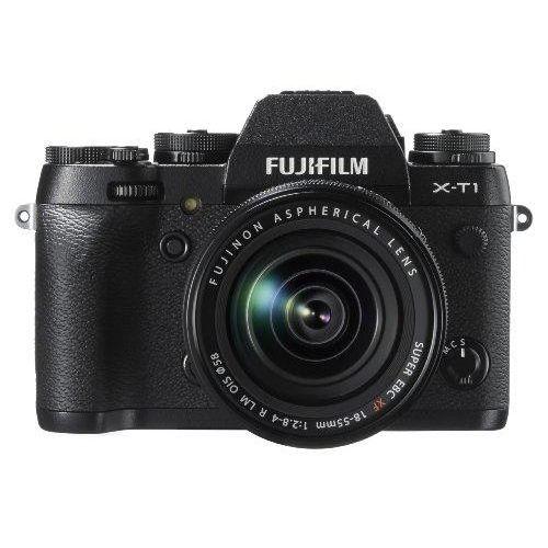 【中古】【1年保証】【美品】FUJIFILM X-T1 18-55mm レンズキット ブラック