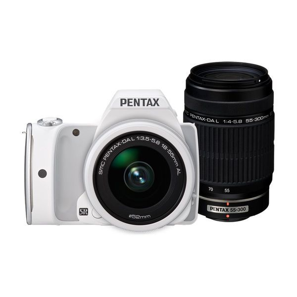 【中古】【1年保証】【美品】PENTAX K-S1 ダブルズームキット ホワイト