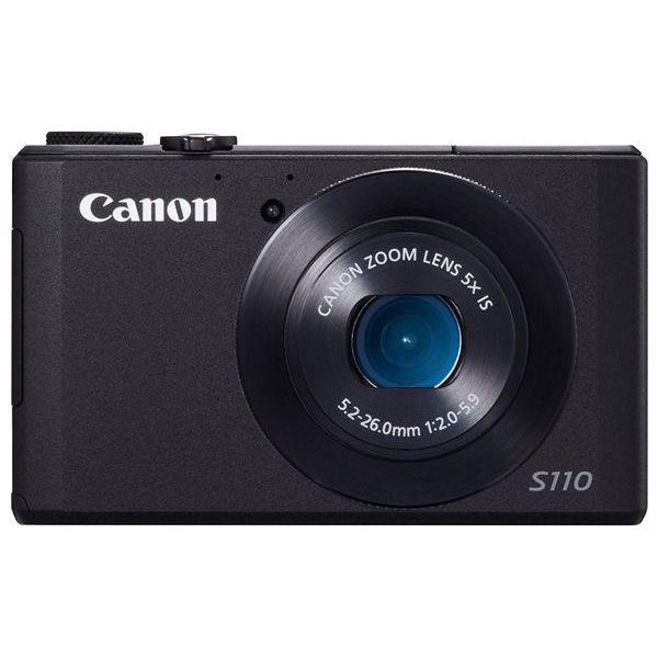 【中古】【1年保証】【美品】Canon PowerShot S110 ブラック