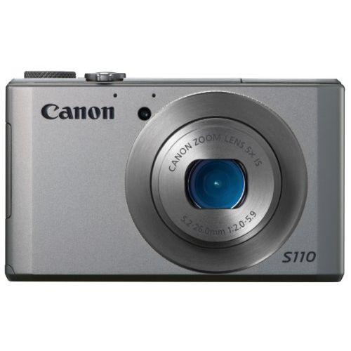 【中古】【1年保証】【美品】Canon PowerShot S110 シルバー