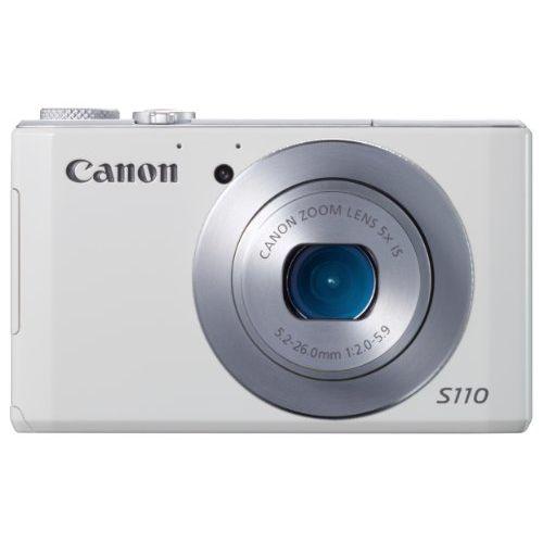 【中古】【1年保証】【美品】Canon PowerShot S110 ホワイト