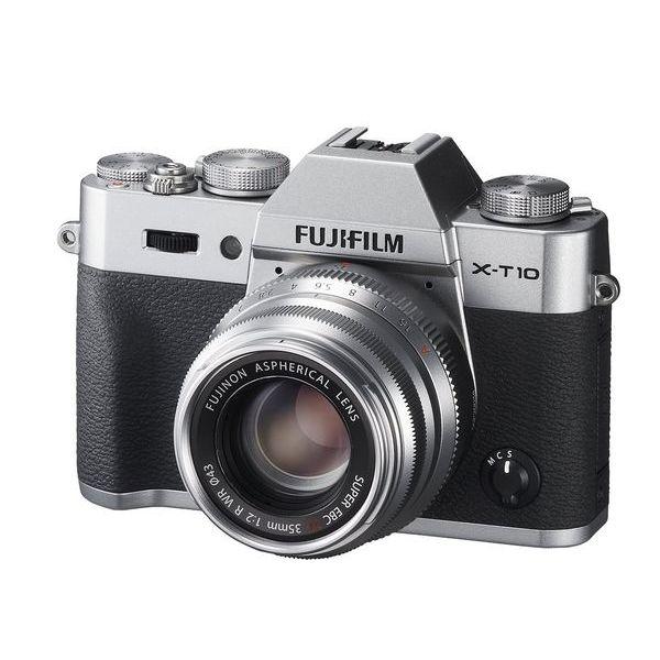 【中古】【1年保証】【美品】FUJIFILM X-T10 35mm レンズキット シルバー