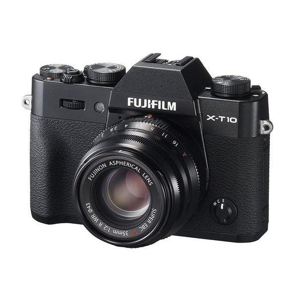 【中古】【1年保証】【美品】FUJIFILM X-T10 35mm レンズキット ブラック