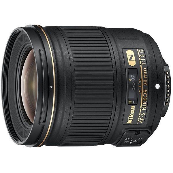 【中古】【1年保証】【美品】 Nikon 単焦点レンズ AF-S 28mm F1.8G