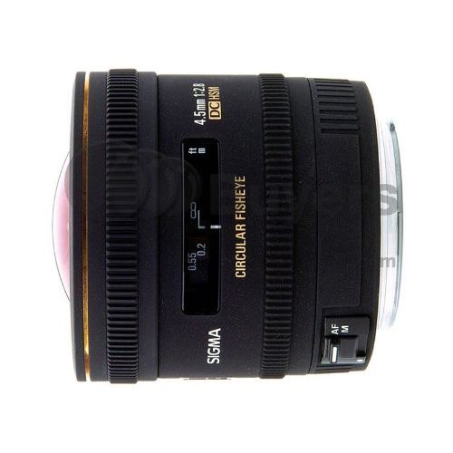 【中古】【1年保証】【美品】 SIGMA 4.5mm F2.8 EX DC CIRCULAR HSM ニコン
