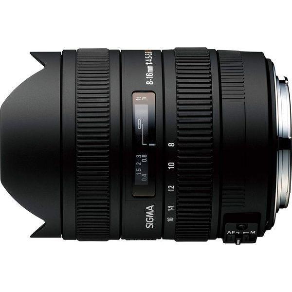 【中古】【1年保証】【美品】SIGMA 8-16mm F4.5-5.6 DC HSM キヤノン