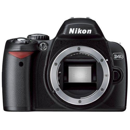 【中古】【1年保証】【美品】Nikon D40 ブラック ボディ