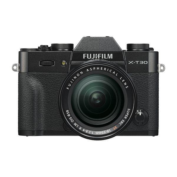 【中古】【1年保証】【美品】FUJIFILM X-T30 レンズキット XF 18-55mm R LM OIS ブラック