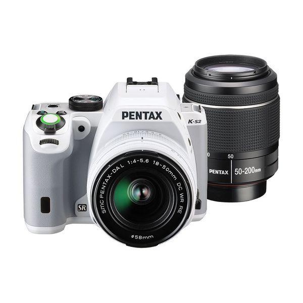 1年保証美品 PENTAX K S2 ダブルズームキット ホワイトyv0wmNnO8