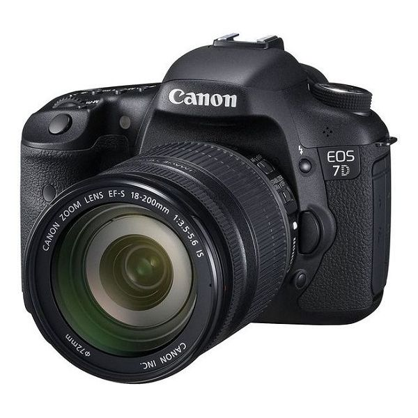 【中古】【1年保証】【美品】 Canon EOS 7D EF-S 18-200mm F3.5-5.6 IS 付属