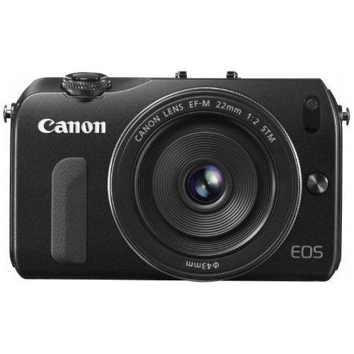 【中古】【1年保証】【美品】Canon EOS M EF-M 22mm F2 STM ブラック