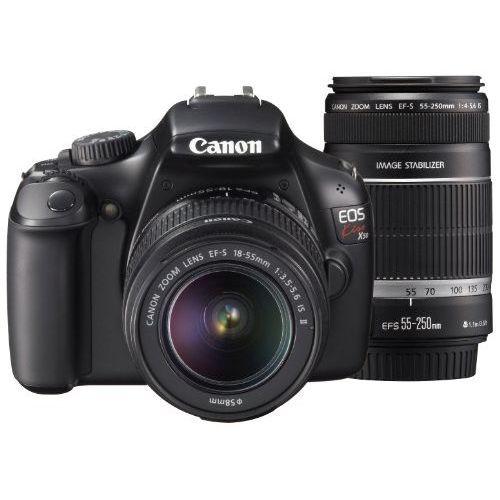 【中古】【1年保証】【美品】Canon EOS Kiss X50 18-55mm / 55-250mm ダブルズームキット