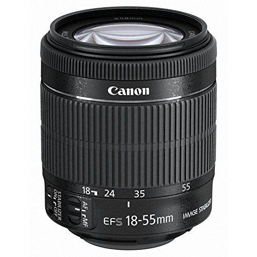 【中古】【1年保証】【美品】Canon EF-S 18-55mm F3.5-5.6 IS STM