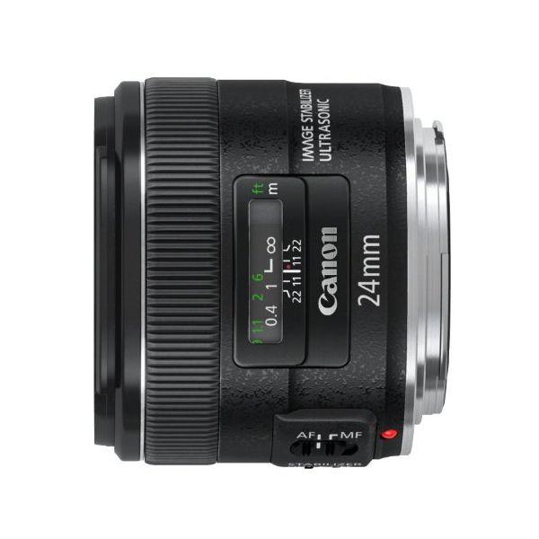 【中古】【1年保証】【美品】Canon EF 24mm F2.8 IS USM