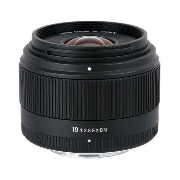 【中古】【1年保証】【美品】SIGMA 19mm F2.8 EX DN MFT マイクロフォーサーズ